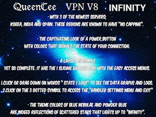 Download Latest QueenCee VPN V8 Infinity APK