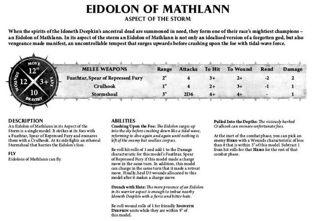 Perfil Eidolon de Mathlann Aspecto de la Tormenta