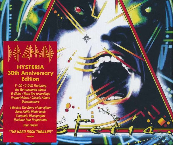 DEF LEPPARD - Hysteria [5CD Box Set] (2017) front