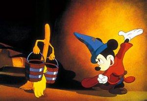 fregonas bailando al más puro estilo Disney