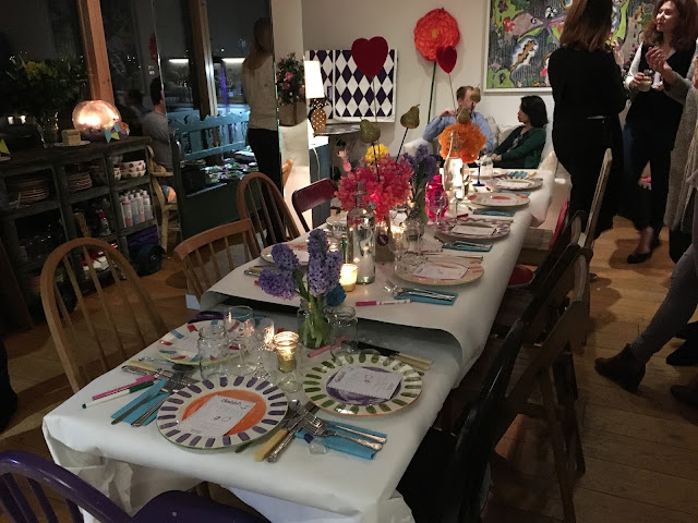 Christabels pop up dining table - London