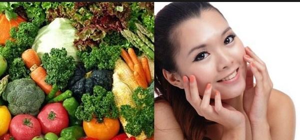 makanan untuk menjaga kesehatan dan kecantikan kulit