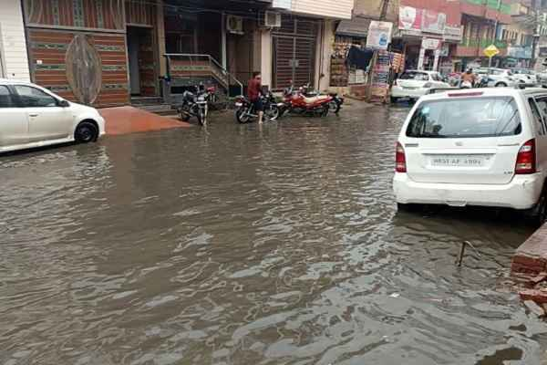 faridabad-nit-vidhansabha-rain-road-water-logging-60-foot-javahar-colony