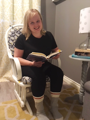 Kirsten's favourite reading spot