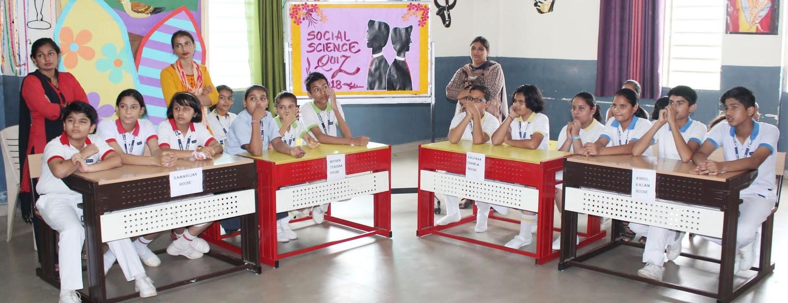 Inter House Social Science Quiz Competition | RPS Rewari