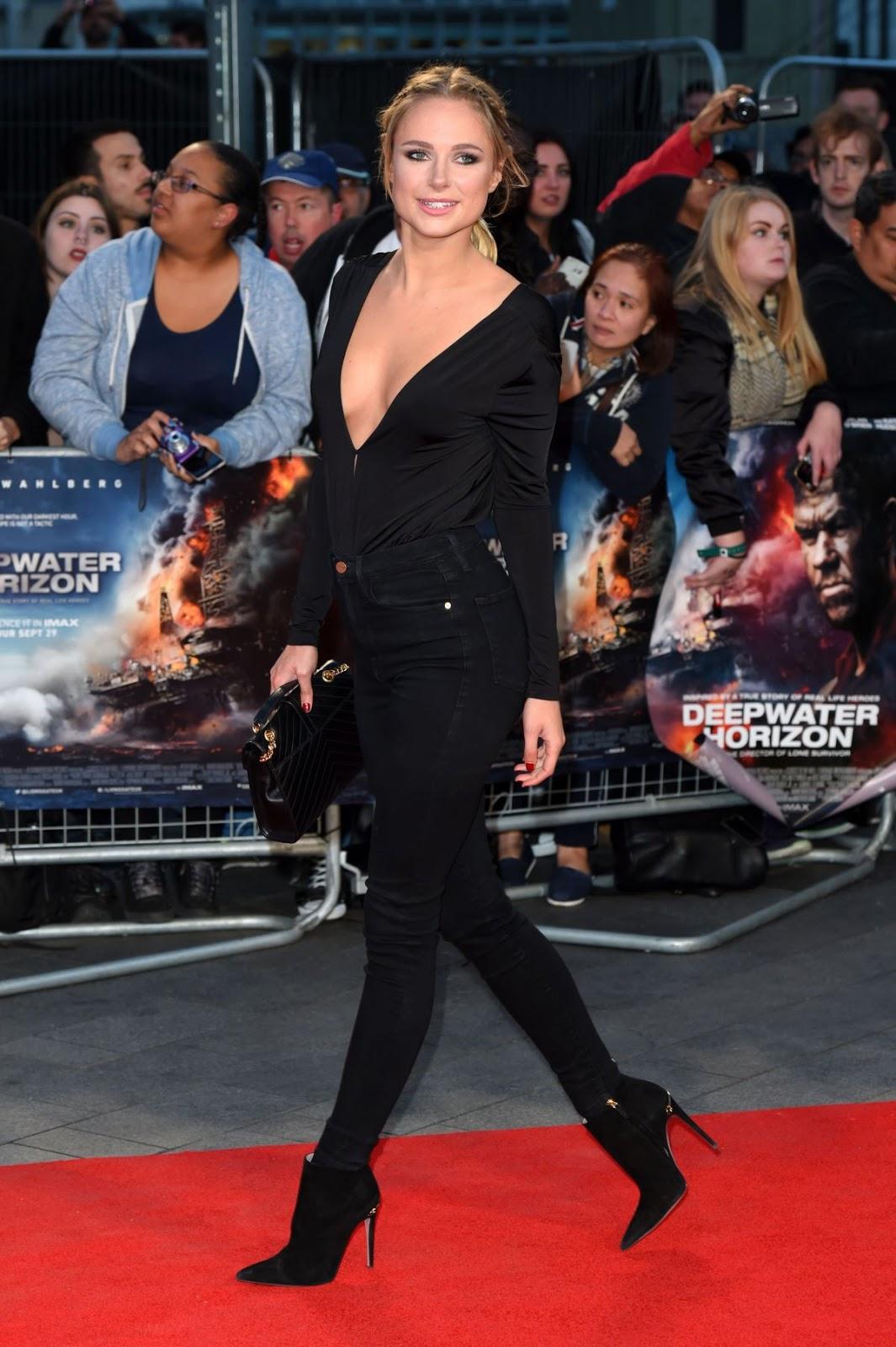 Kimberley Garner at 'Deepwater Horizon' Premiere