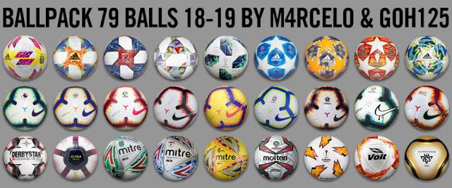 5f9e5a78f PES 2013 Ballpack 2018-19 (79 Balls)