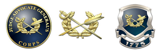 Military Insignia 3d U S Army Branches Insignia And