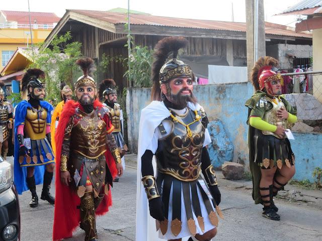 faces of moriones festival