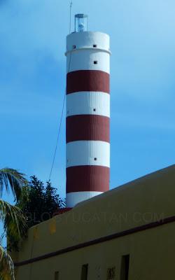 Faro Sisal Yucatan Mexico