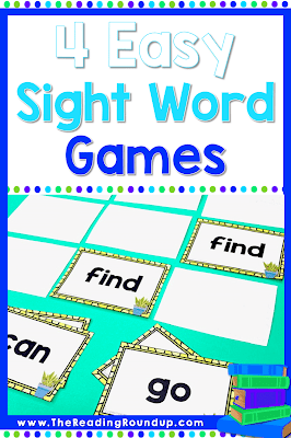 Sight word practice is essential for students in kindergarten, 1st, and 2nd grade. Check out these FREE sight word games you can easily play with flash cards.