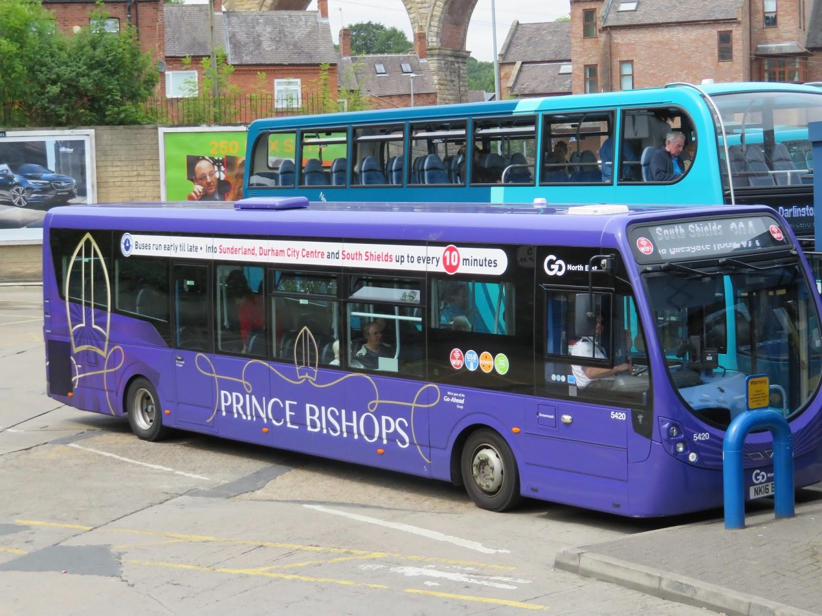 North West Bus Cam Durham Bus Station