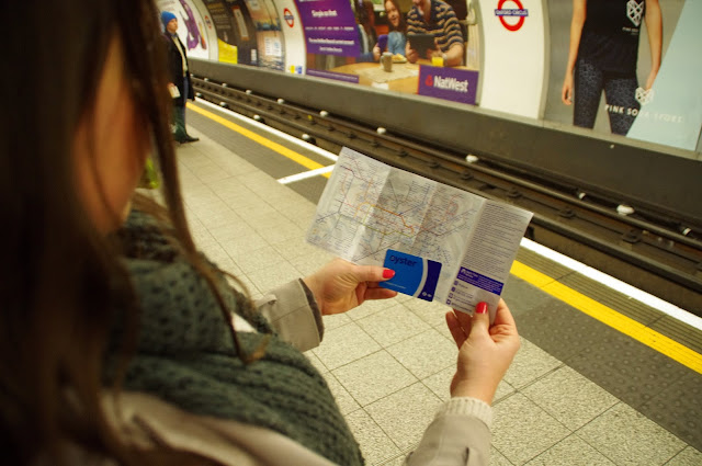 Oyster Cards in Tube London