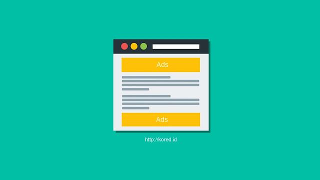 Memasang Iklan AdSense di Atas Dan Bawah Artikel