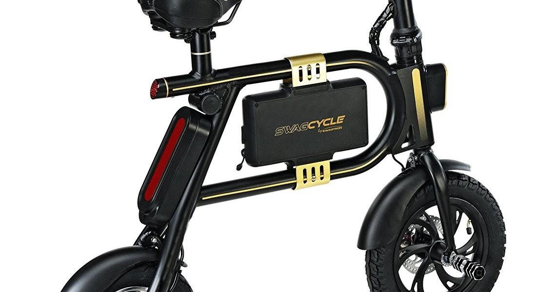 Exercise Bike Zone Swagtron Swagcycle E Bike Folding