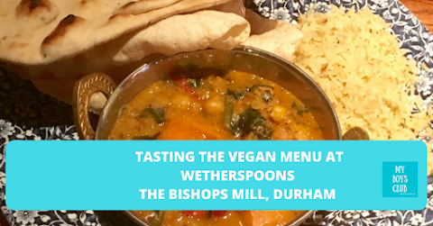Veganuary at JD Wetherspoons - Tasting The Vegan Menu in Durham