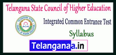 Telangana Integrated Common Entrance Test Syllabus