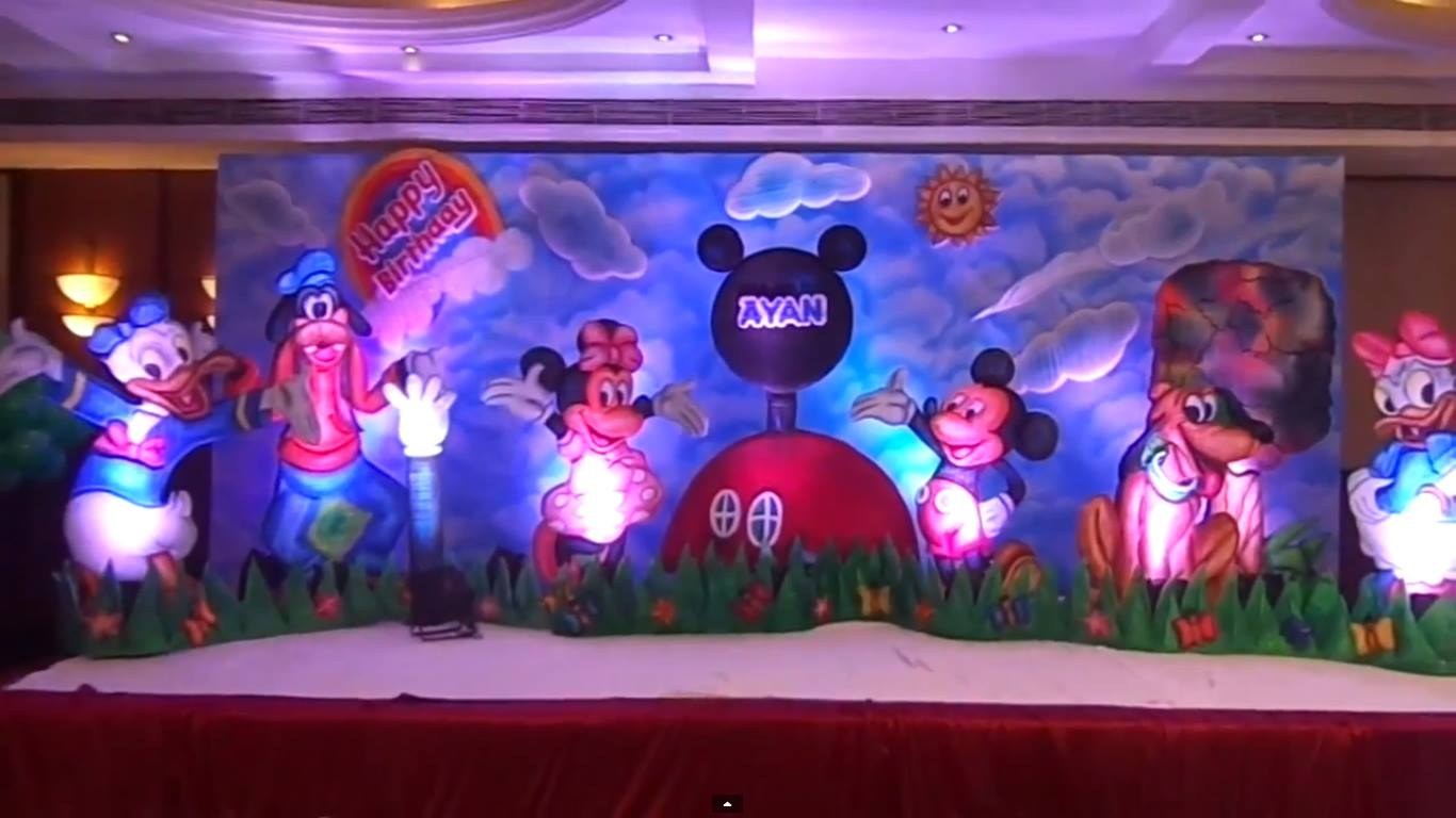 Birthday Party Decorations Boys Girls Themes In Hyderabad May 2016