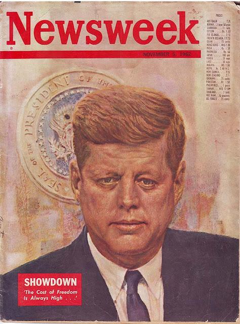 majalah newsweek 1962