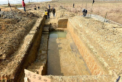 5,000-year-old levees to control floods discovered in E. China's Hangzhou