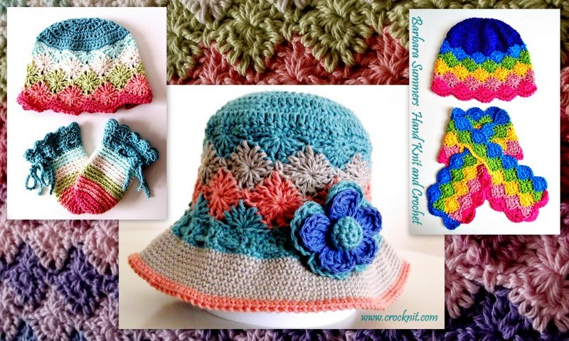 how to crochet, crochet patterns, rainbow, keyhole scarf, hat, mittens,