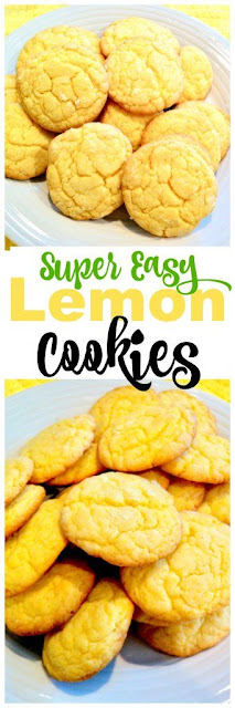 Simple Lemon Cookies