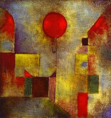 Balão Vermelho - Paul Klee - (Expressionismo) Suíço