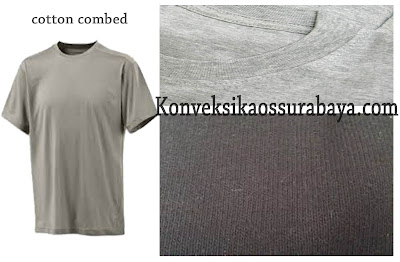 pengertian cotton combed, arti cotton combed, jenis cotton combed