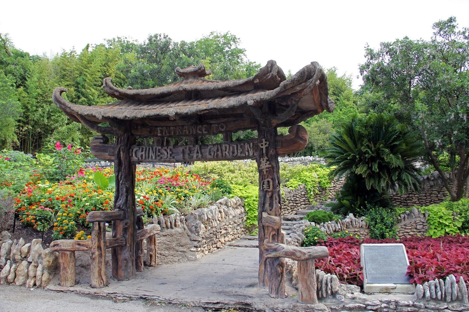 Doorway Into the Past Japanese Tea Garden