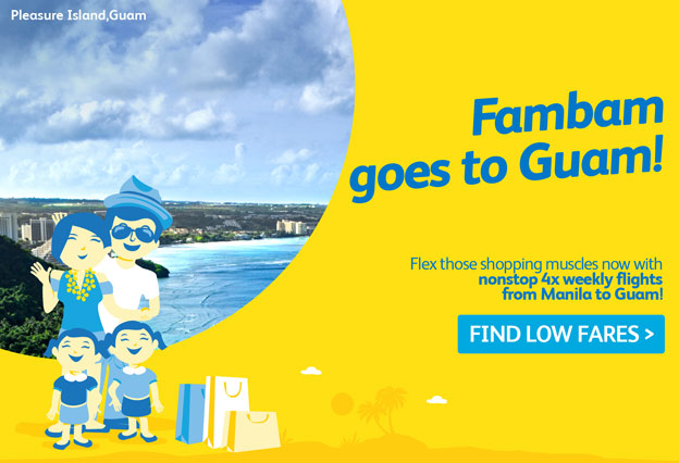 Cebu Pacific Air Manila to Guam
