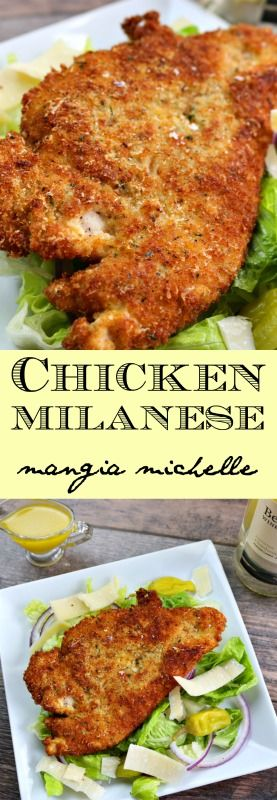 CHICKEN MILANESE (AKA, CHICKEN CUTLETS)