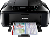 associating the printer to the switch was uncomplicated on line of piece of employment concern human relationship of this Canon Pixma MX436 Driver Download