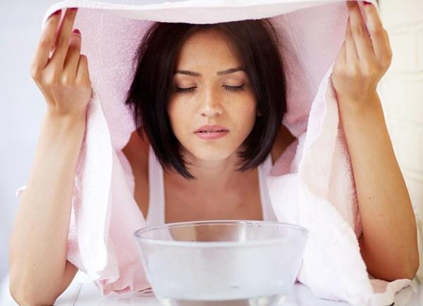 Thuốc chữa bằng cách xông hơi – trị viêm xoang nhanh chóng