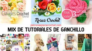 Tutoriales y Patrones de Amigurumis, Flores, Prendas para bebés y mucho más