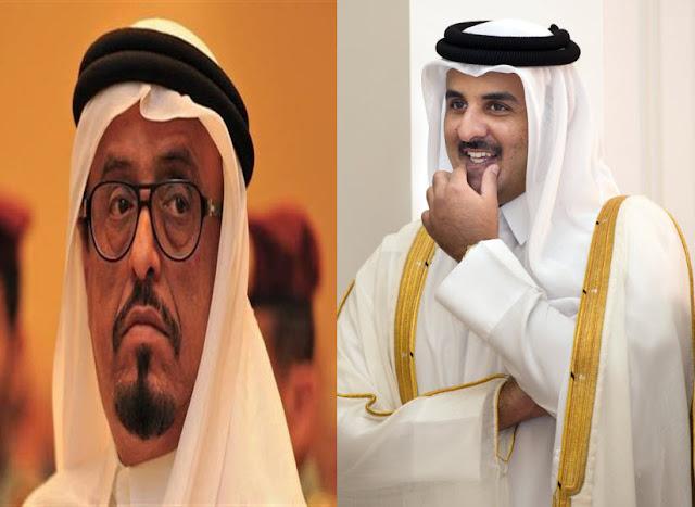 ضاحي خلفان: قطع الاتصالات عن قصر الأمير تميم, وسيارة تشويش بجواره