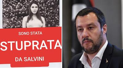Sono stata Stuprata da Salvini