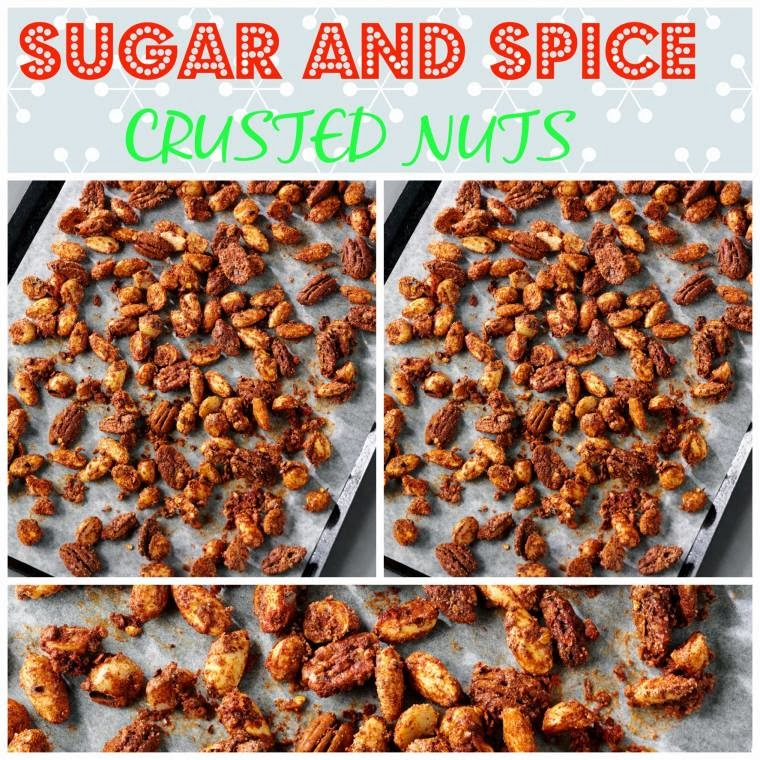 Sugar And Spice Crusted Nuts