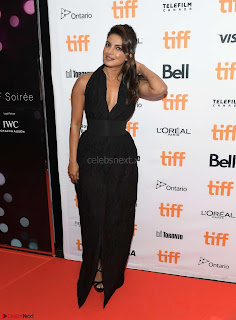 Priyanka Chopra Looks Stunning in Black in New York
