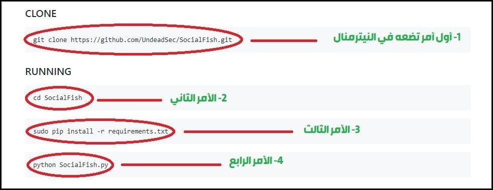 اختراق أي حساب على الفيسبوك بسهولة عبر أداة Social fish