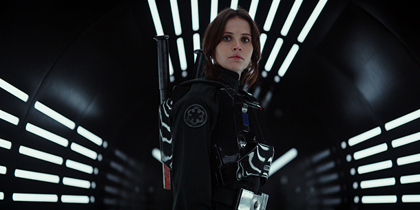 Felicity Jones en 'Rogue One'