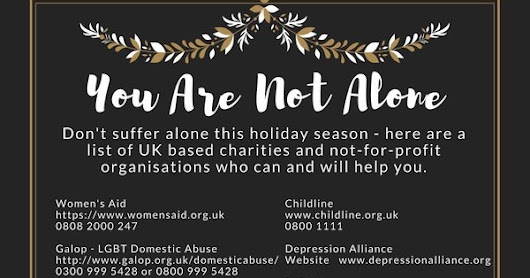 You Are Not Alone This Christmas, 2017