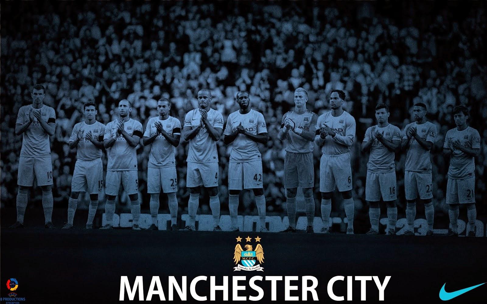 Soccer Bedrooms Manchester City Football Club Wallpaper Football