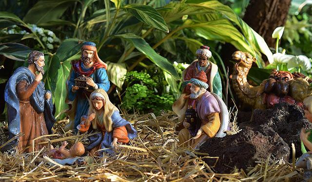 Weihnachten, Wahr oder Falsch Spiel, Brauchtum, Krippe