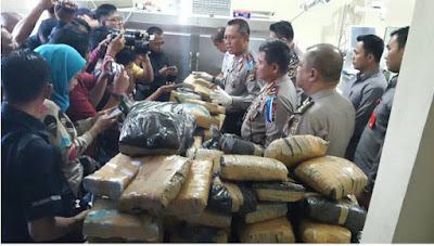Polda Lampung Tembak Mati Tiga Bandar Narkoba di Jatiagung Lamsel