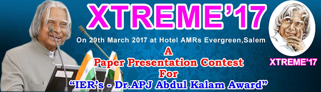 XTREME 17: Technical Conference at Salem Tamil Nadu