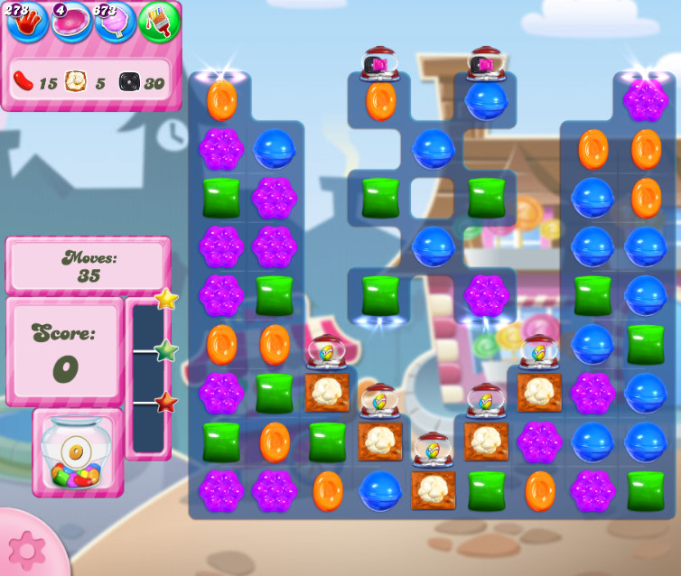 Candy Crush Saga level 2725
