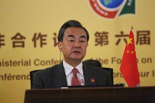 Ο υπουργός Εξωτερικών της Κίνας Ουάνγκ Γι