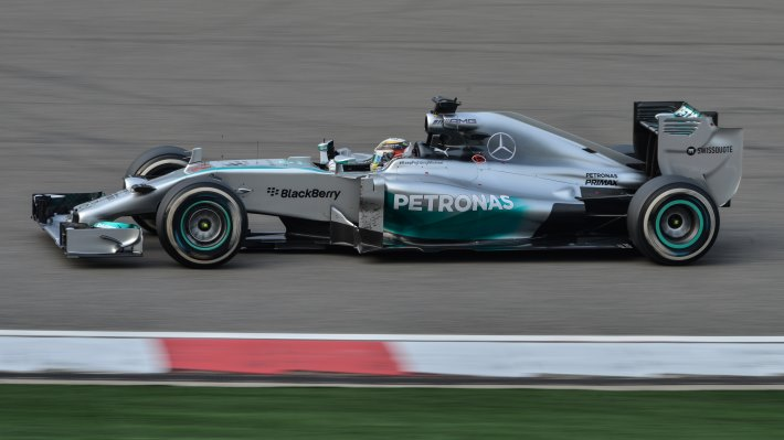 Wallpaper 2: Mercedes F1 car