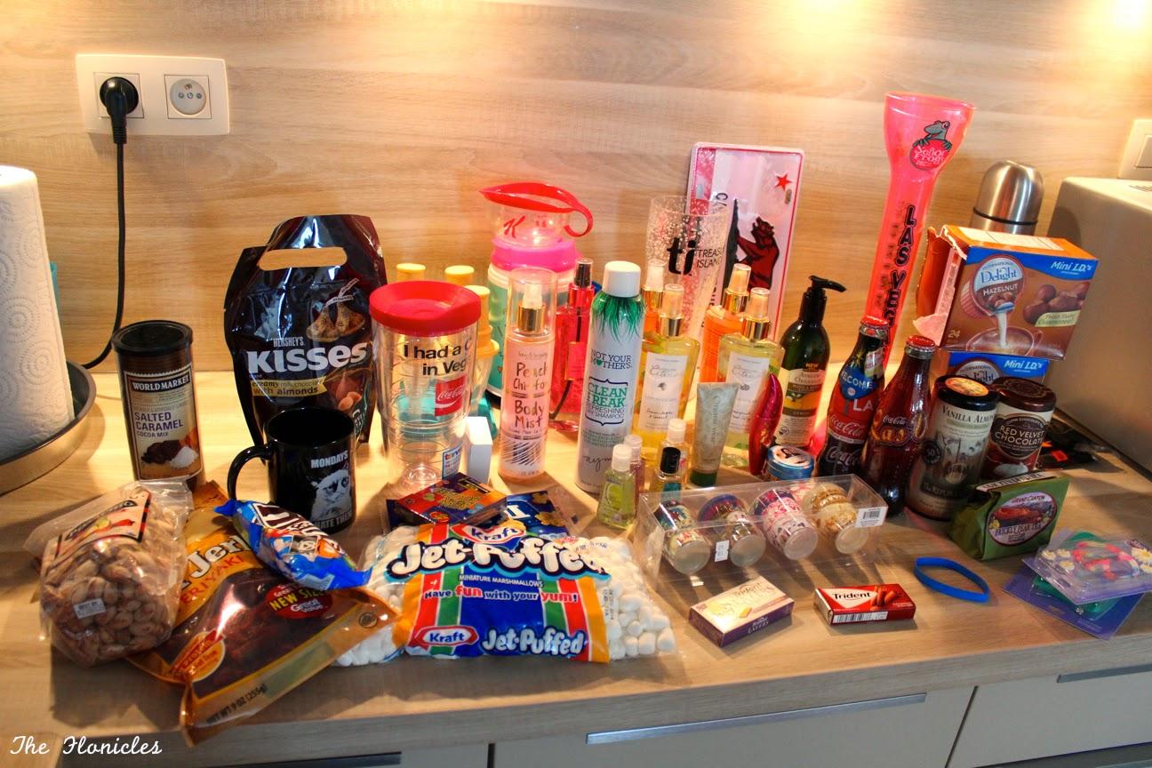 Achats des Etats-Unis : cosmétiques, nourriture, vêtements, souvenirs...