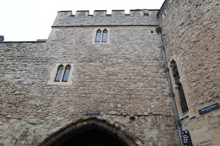The Bloody Tower. The murder site of 2 princes in the tower